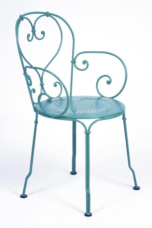 sedia fermob 1900 c b blu turchese 16 fiorinmaurizio. Black Bedroom Furniture Sets. Home Design Ideas