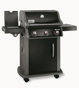Barbecue Weber a gas SPIRIT ORIGINAL E-320 BLACK CON GRIGLIE GOURMET