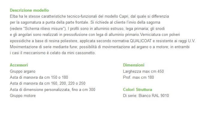 Capottina Fiorin CAPRI-2946