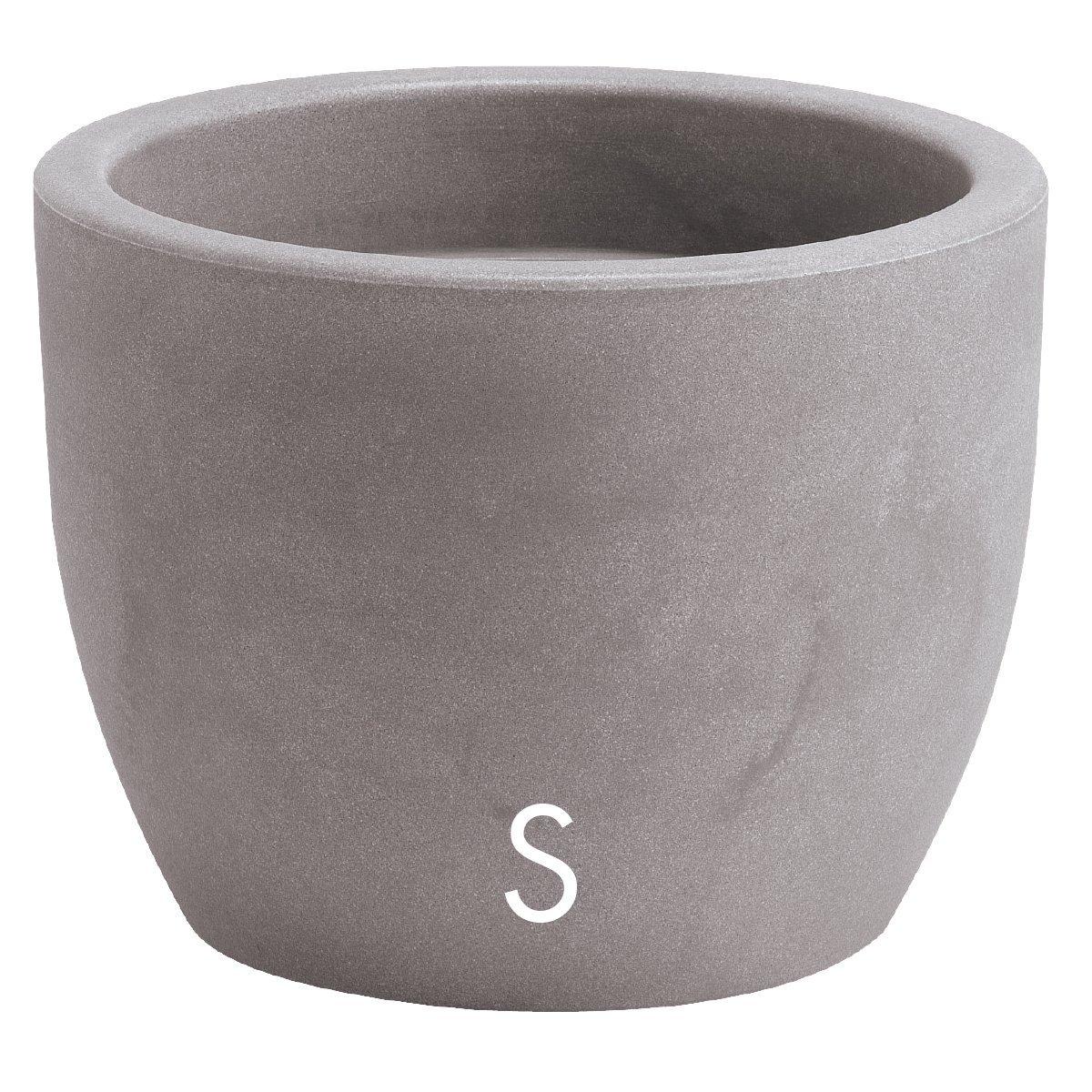 Vaso Nicoli in resina di polietilene HERA