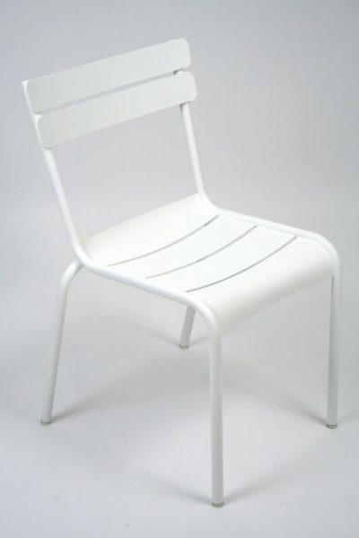 Sedia Fermob LUXEMBOURG S/B bianco cotone 01-0
