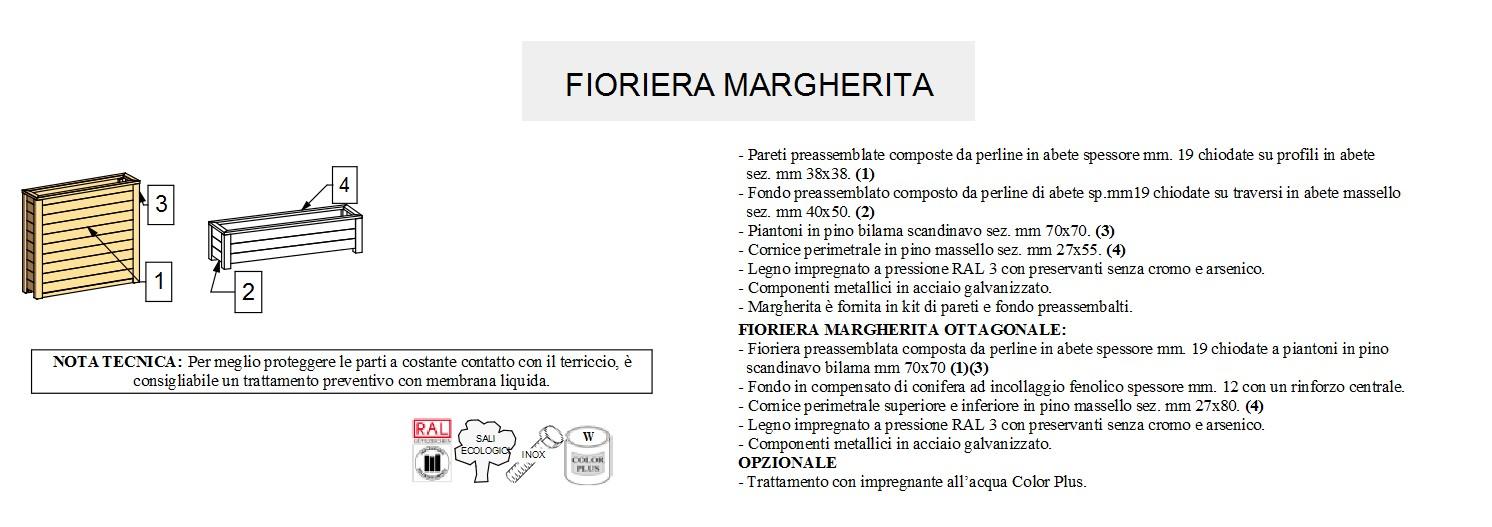 Fioriera Fiorin MARGHERITA-3132