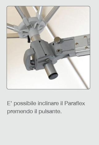 Ombrellone Umbrosa pensile PARAFLEX WALLFLEX-2819