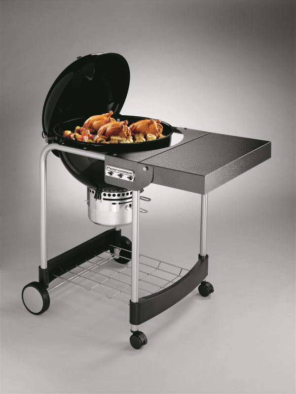 Barbecue Weber a carbone PERFORMER GBS 57 BLACK-1202