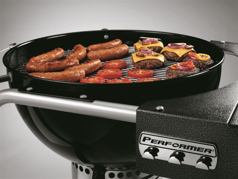 Barbecue Weber a carbone PERFORMER GBS 57 BLACK-1203