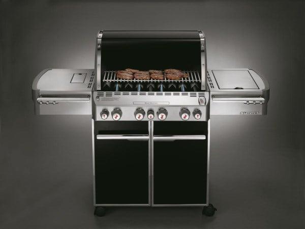 barbecue weber a gas summit e 470 gbs black con griglie gourmet fiorinmaurizio. Black Bedroom Furniture Sets. Home Design Ideas
