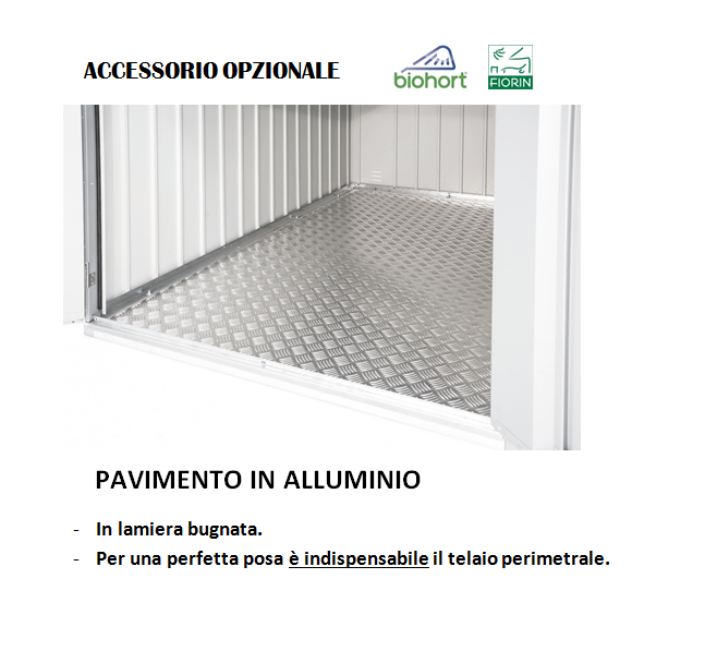 ARMADIO Biohort, PAVIMENTO