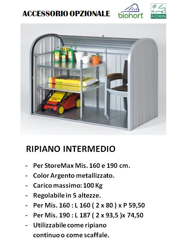 baule Biohort STOREMAX,, RIPIANO INTERMEDIO