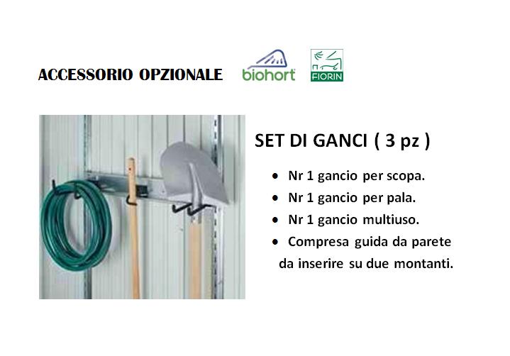 ARMADIO Biohort, SET DI GANCI