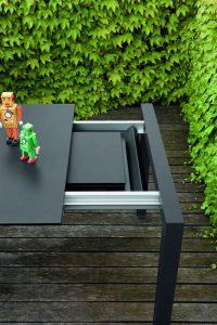 Tavolo in alluminio SUSHI 12 OUTDOOR ALLUNGABILE-0