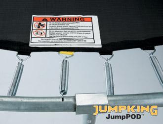TRAMPOLINO ELASTICO JUMPKING COMBO-4709