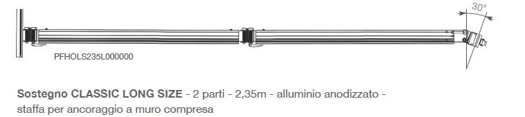 Ombrellone Umbrosa pensile PARAFLEX DUOFLEX-5088