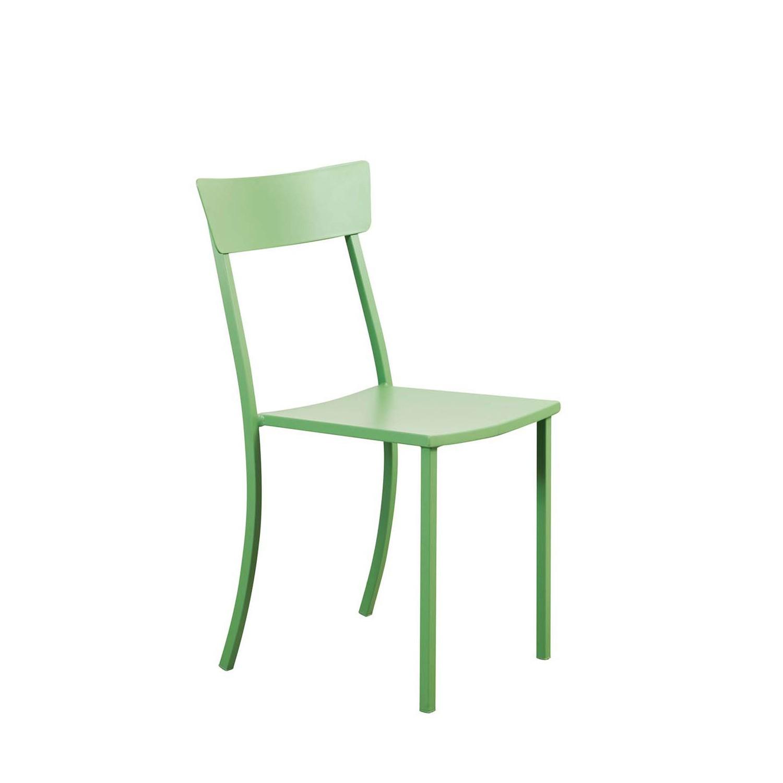Sedia mogan senza bracciolo vermobil fiorinmaurizio for Sedia a dondolo verde