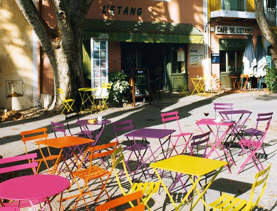 sedie bistro fermob colorate