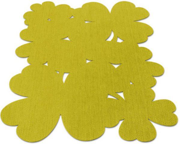 Tappeto Fermob collezione TREFLE cm 200x200 PINEAPPLE-0