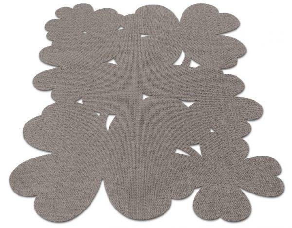 Tappeto Fermob collezione TREFLE cm 200 X 200 colore: TAUPE-0