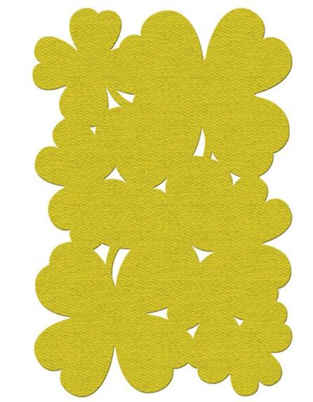 Tappeto Fermob collezione TREFLE cm 100x150 pineapple-0