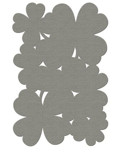 Tappeto Fermob collezione TREFLE cm 100 x 150 colore: TAUPE-0