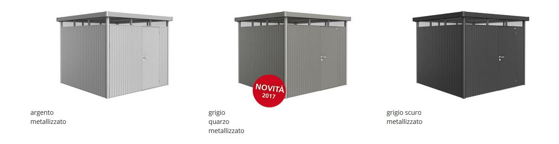 CASETTA BIOHORT in metallo HIGHLINE , COLORI