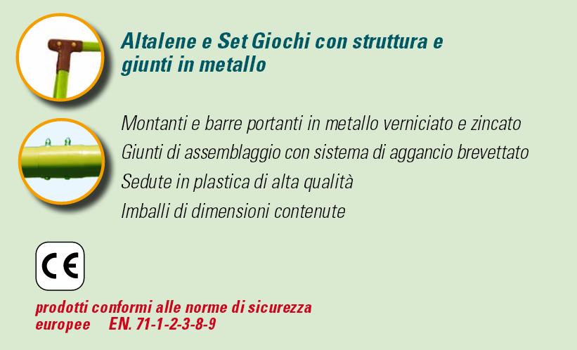 ALTALENA IN METALLO ALBATROS , TRASPORTO COMPRESO-9383