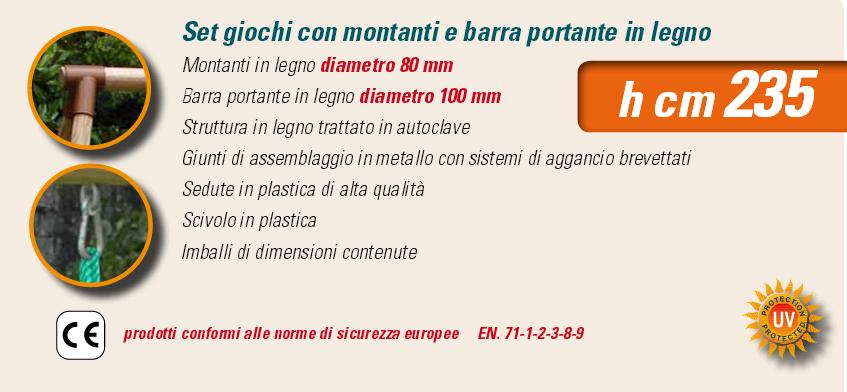 ALTALENA IN LEGNO GLICINE , TRASPORTO COMPRESO-9336
