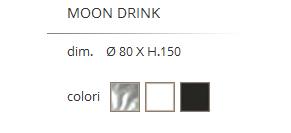 CAMINETTO/TAVOLO BAR MODELLO MOON DRINK-9613