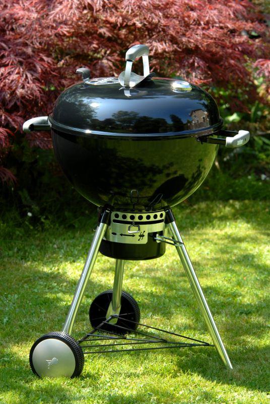 barbecue weber a carbone original kettle premium diam 57. Black Bedroom Furniture Sets. Home Design Ideas