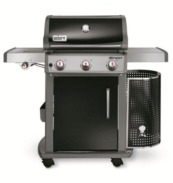 Barbecue a gas SPIRIT PREMIUM E-320 GBS BLACK, con griglie gourmet IN OFFERTA SPECIALE limitata