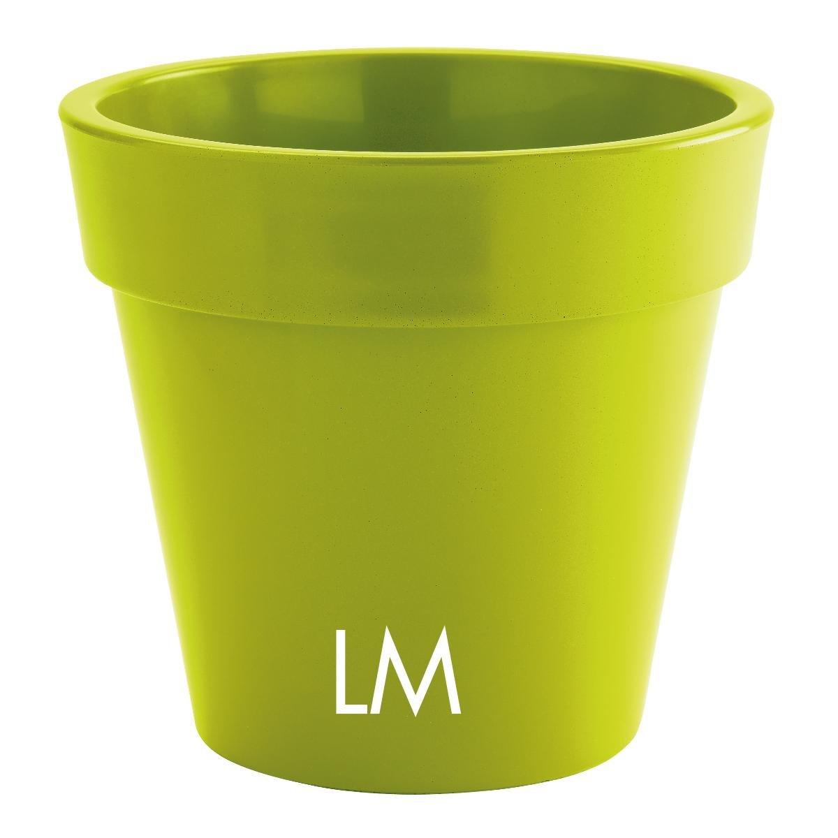 vaso nicoli in resina di polietilene zeus