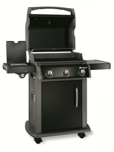 Barbecue Weber a gas SPIRIT ORIGINAL E-320 BLACK GAS NATURALE, nuovo modello 2016