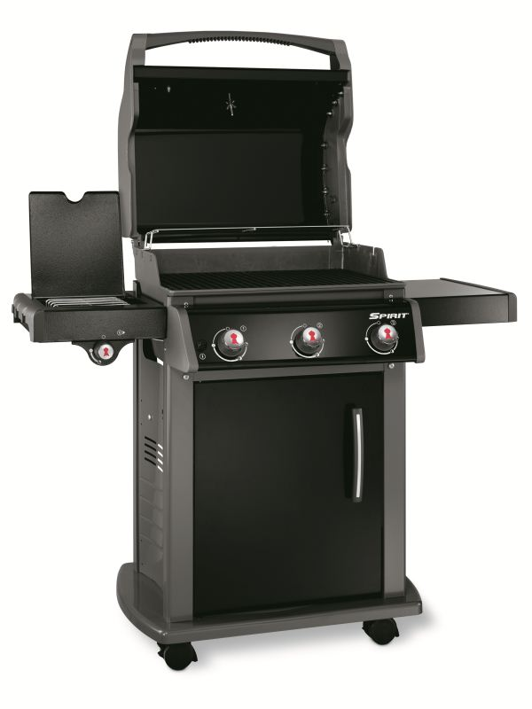 Barbecue Weber a gas SPIRIT ORIGINAL E-320 BLACK GAS NATURALE, nuovo modello 2016