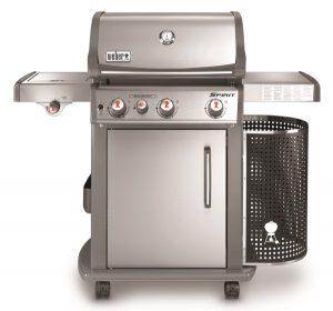 Barbecue a gas SPIRIT PREMIUM S-330 GBS BLACK, con griglie gourmet