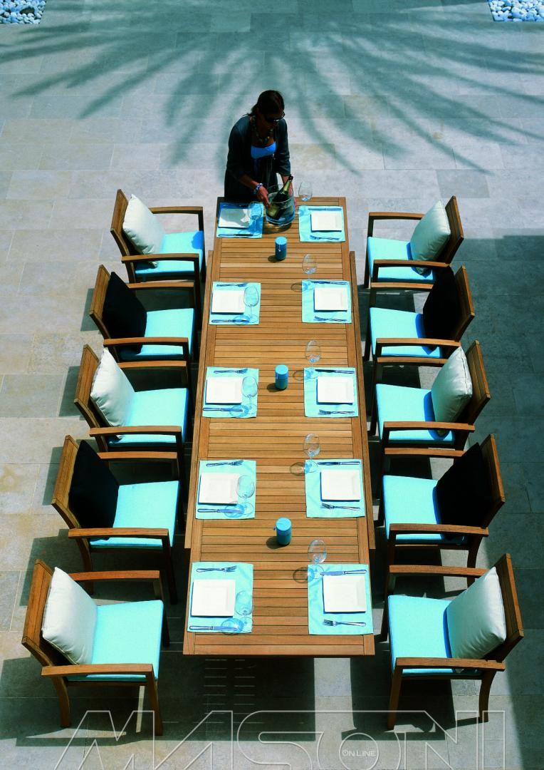 tavolo in teak royal botania modello IXIT allungabile -17797