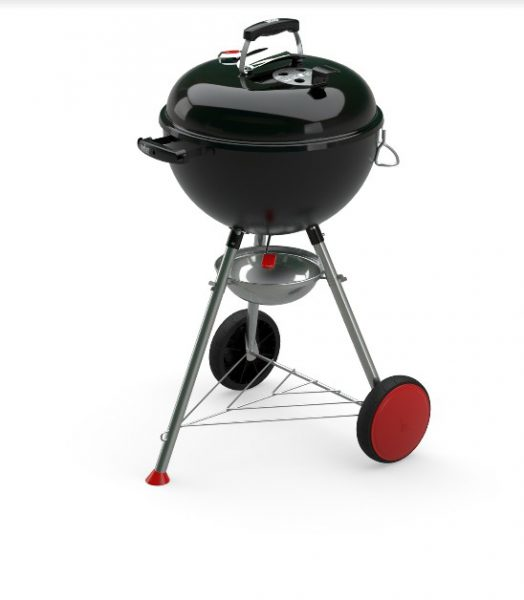Barbecue Weber a carbone ORIGINAL KETTLE PLUS DIAM 47 BLACK