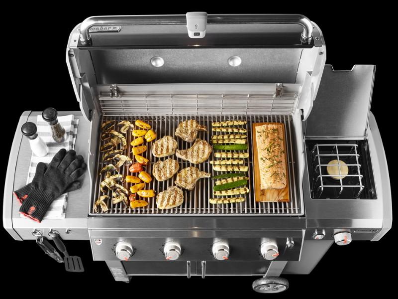 barbecue weber genesis ii lx e 440 gbs black. Black Bedroom Furniture Sets. Home Design Ideas