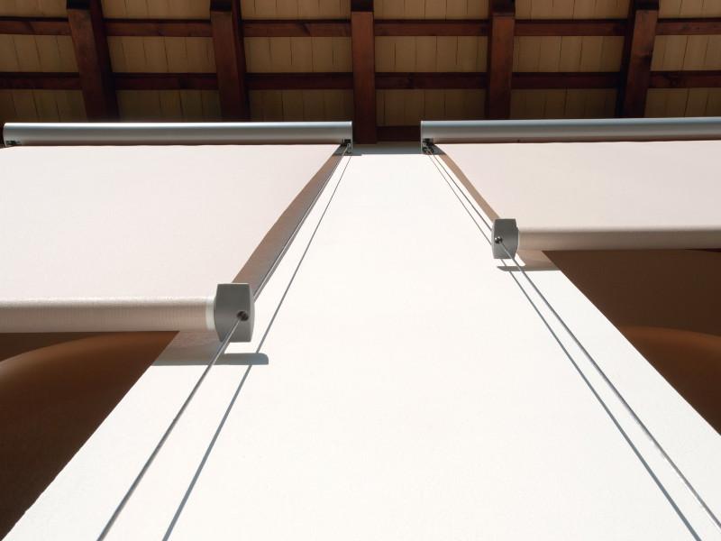 Chiusura Pratic verticale con cavi inox T-LINE 8