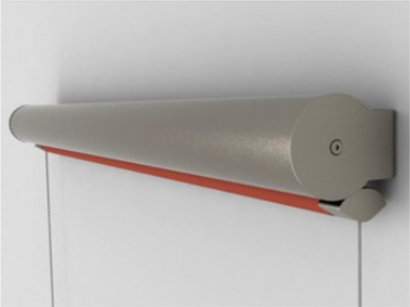 Chiusura Pratic verticale con cavi inox T-LINE