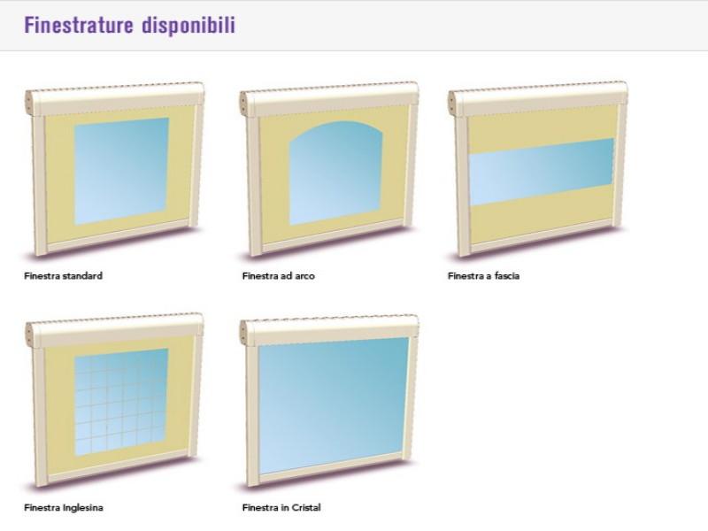 Chiusura Pratic verticale con guide laterali WINDY 5
