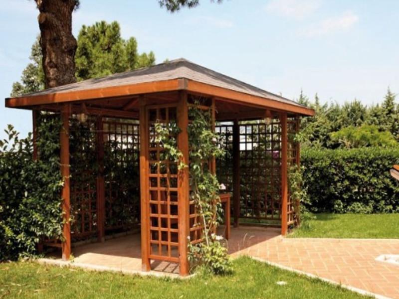 Gazebo Fiorin in legno Pavillon