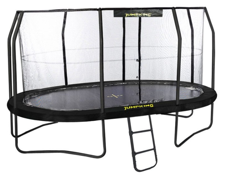 OVAL POD JUMPKING TRAMPOLINO