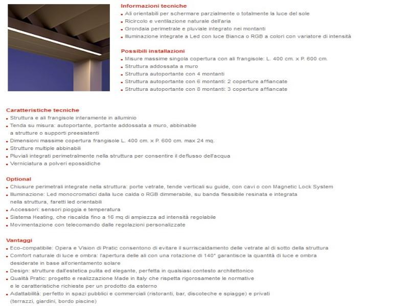 PERGOLA PRATIC BIOCLIMATICA VISION 4