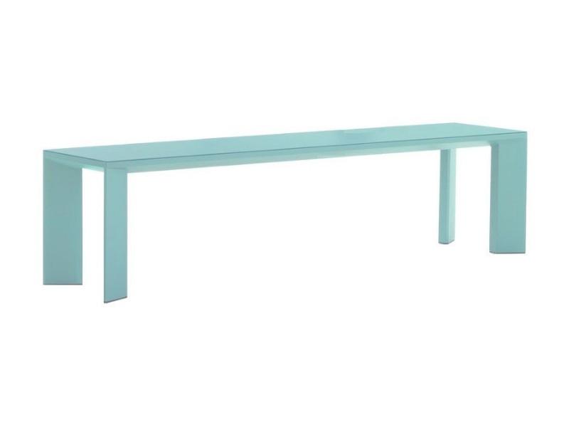 Panca in alluminio verniciato Grande Arche 5805