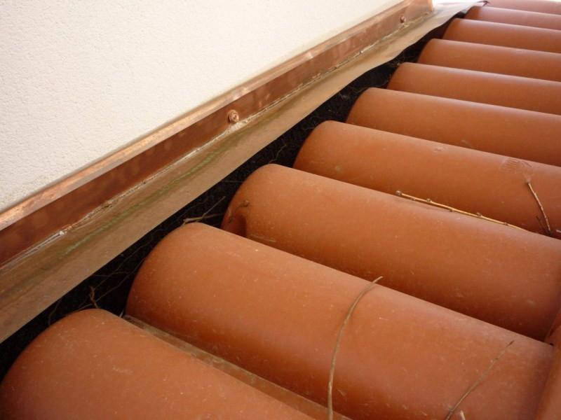 Pergola Fiorin in legno copertura in coppi e vetro 2