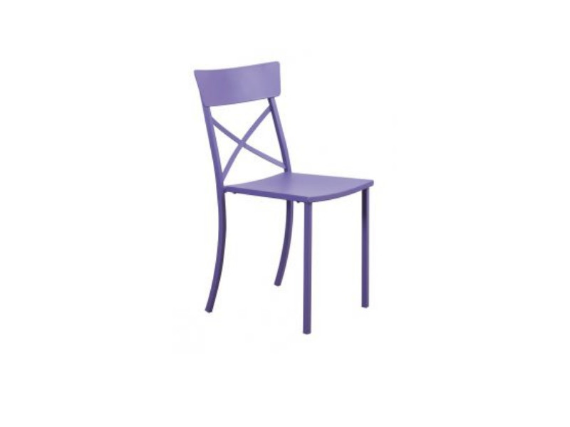 Sedia Mogan Wood a incrocio MG122 Lilla