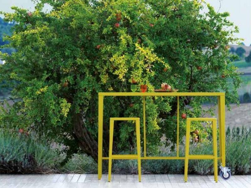 Sgabello alto Vermobil Skyline sk152 arredo giardino