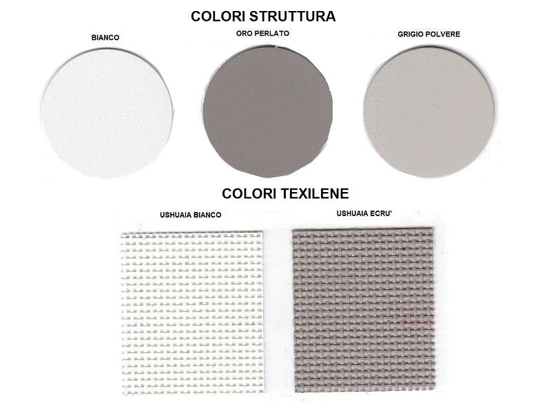 colori lettino Ushuaia U500