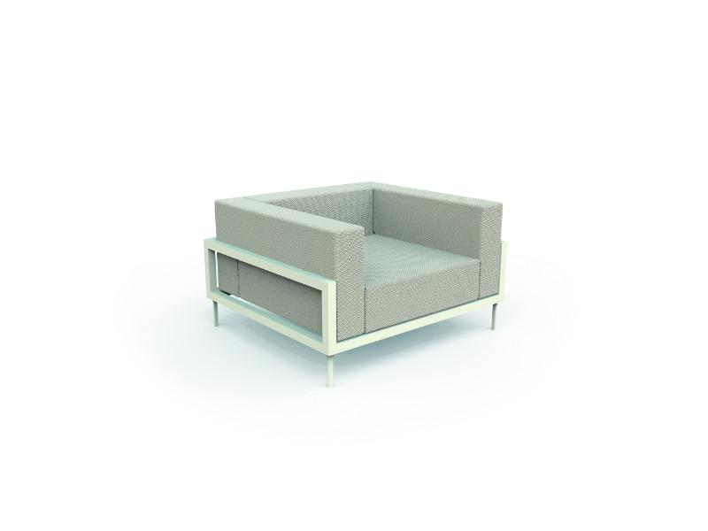 Cleo Alu_living armchair