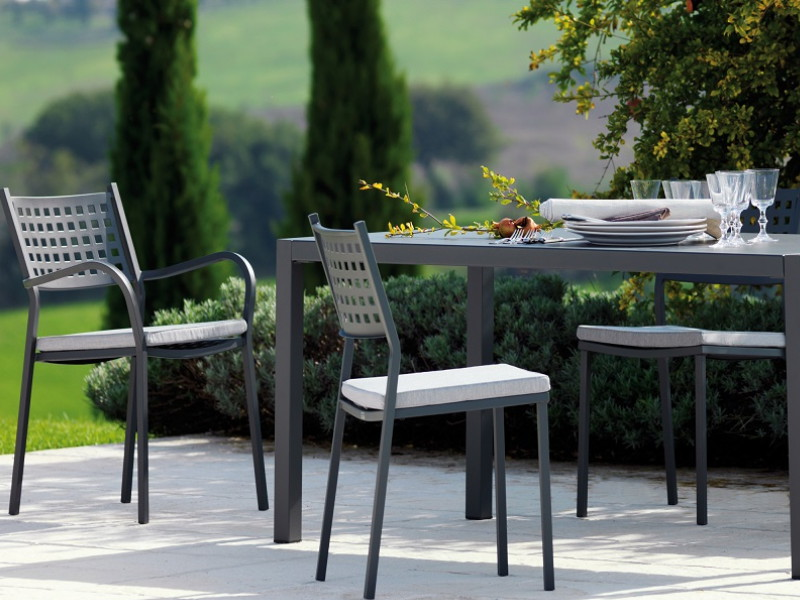 tavolo QUATRIS Vermobil 120 x 80 cm QT12080 arredo giardino