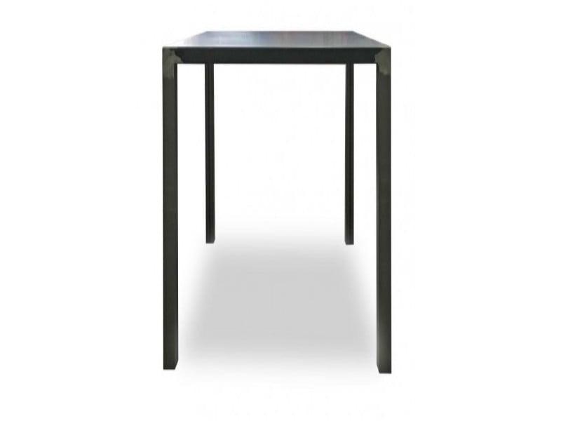 tavolo quadrato alto quatris vermobil cm 70x70x110-h