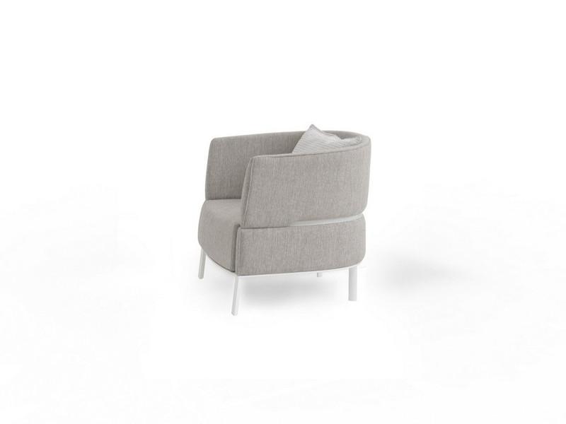 Lounge Armchair poltrona Eden Talenti EDNPL lato